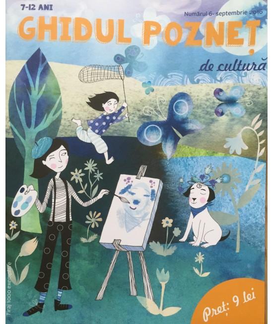 Ghidul pozneț de cultură Nr. 6 - revistă culturală pentru copii