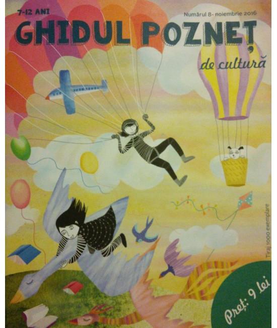 Ghidul pozneț de cultură Nr. 8 - revistă culturală pentru copii