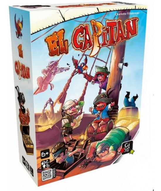 El Capitan - joc boardgame de memorie Gigamic