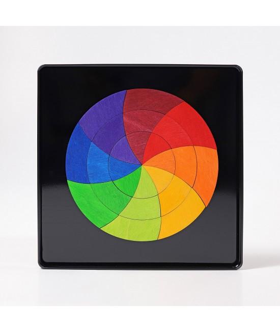 Cerc color Goethe - puzzle magnetic GRIMMS Spiel und Holz Design
