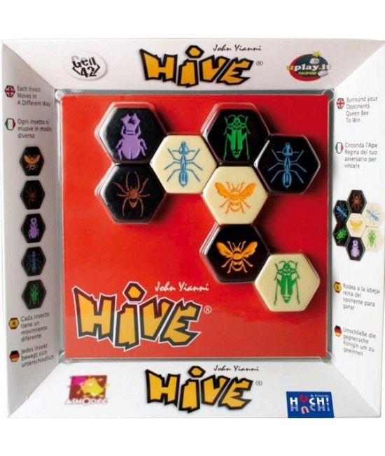 Hive (stup) - joc boardgame de strategie Huch and friends