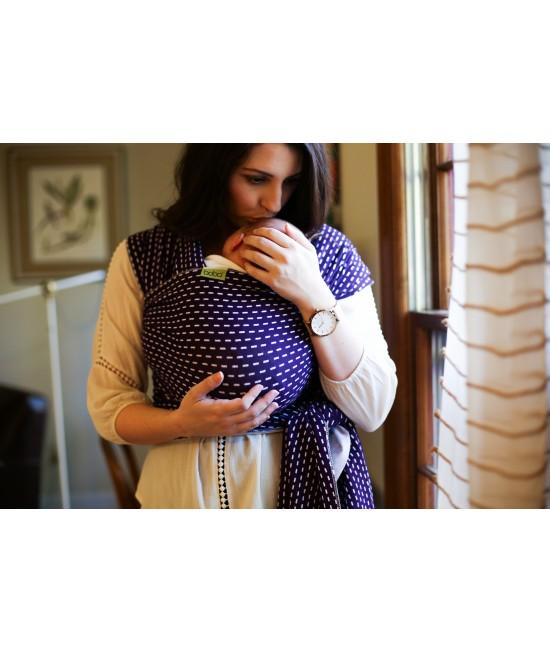 Wrap elastic pentru purtarea bebelușilor Boba ediție limitată Kantha
