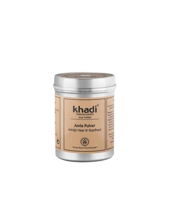 Pudră de Amla organică Khadi - tratament pentru păr și ten 100% natural