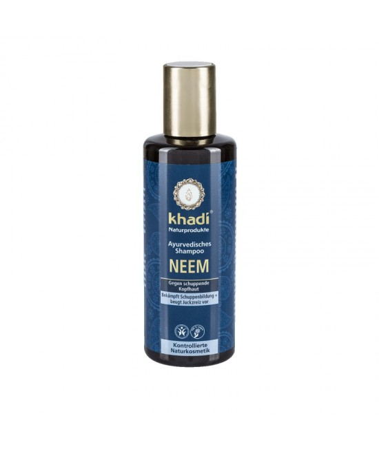 Șampon natural anti-mătreață Khadi cu Neem