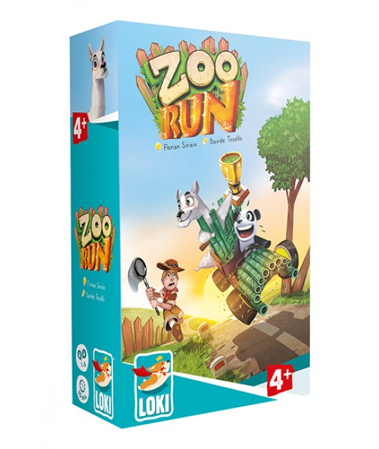 Zoo Run - joc de societate (board game) Loki