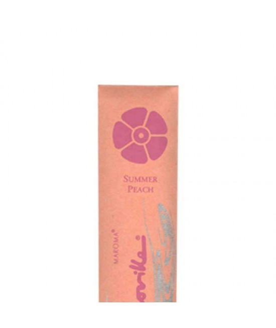 Bețișoare parfumate naturale Maroma Summer Peach cu uleiuri esențiale