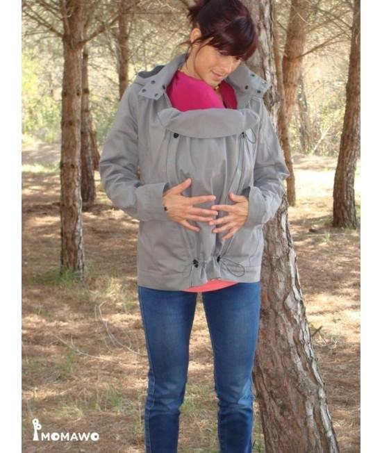 Jachetă Momawo Light de primăvară/toamnă pentru purtarea bebelușului și pentru sarcină