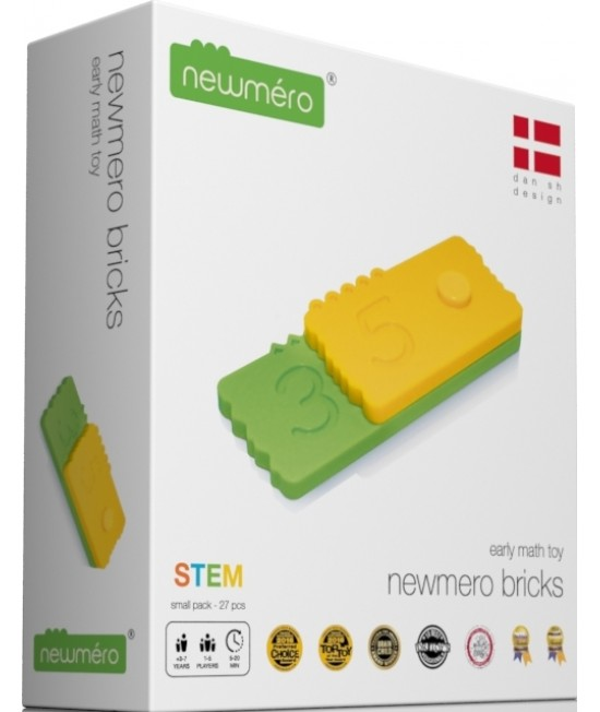 Joc STEM matematic educativ Newmero Start Pack