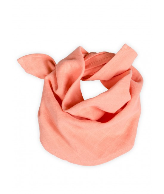 Eșarfă din muselină de bumbac organic Organic by Feldman pentru bebeluși și copii - Play of Colors Canyon Sunset