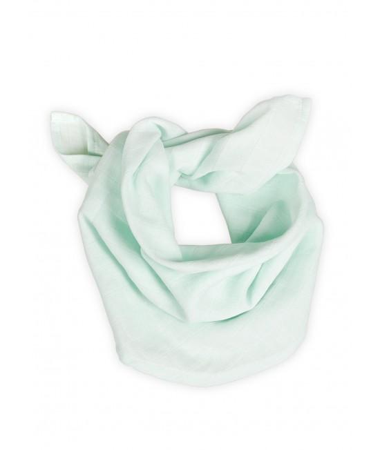 Eșarfă din muselină de bumbac organic Organic by Feldman pentru bebeluși și copii - Play of Colors Glacier