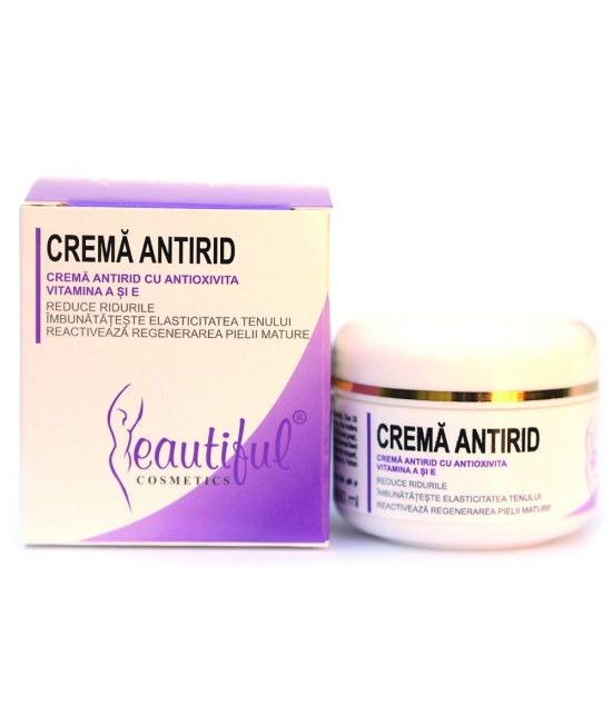 Cremă anti-rid naturală cu Antioxivita și Vitamina E Beautiful Cosmetics Phenalex