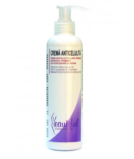 Cremă anticelulitică naturală cu Antioxivita și Vitamina E Beautiful Cosmetics Phenalex