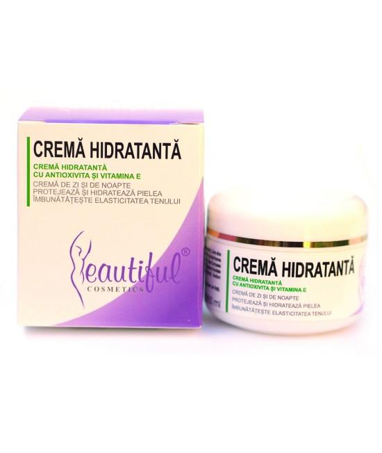 Cremă hidratantă naturală cu Antioxivita și Vitamina E Beautiful Cosmetics Phenalex