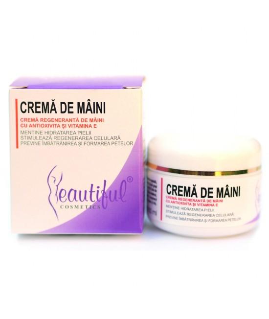 Cremă de mâini hidratantă naturală cu Antioxivita și Vitamina E Beautiful Cosmetics Phenalex