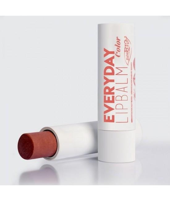 Balsam BIO pentru buze PuroBio Cosmetics EveryDay Color