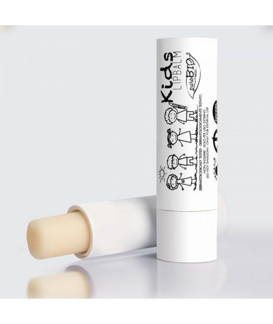 Balsam BIO pentru buze PuroBio Cosmetics Kids