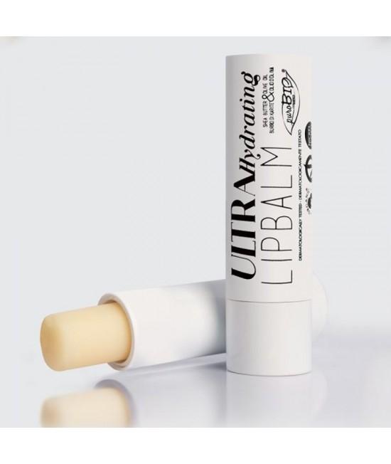Balsam BIO pentru buze PuroBio Cosmetics Ultra Hydrating