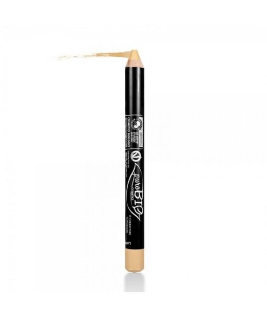 Creion BIO corector pentru acnee, roșeață, cuperoză PuroBio Cosmetics Green Olive