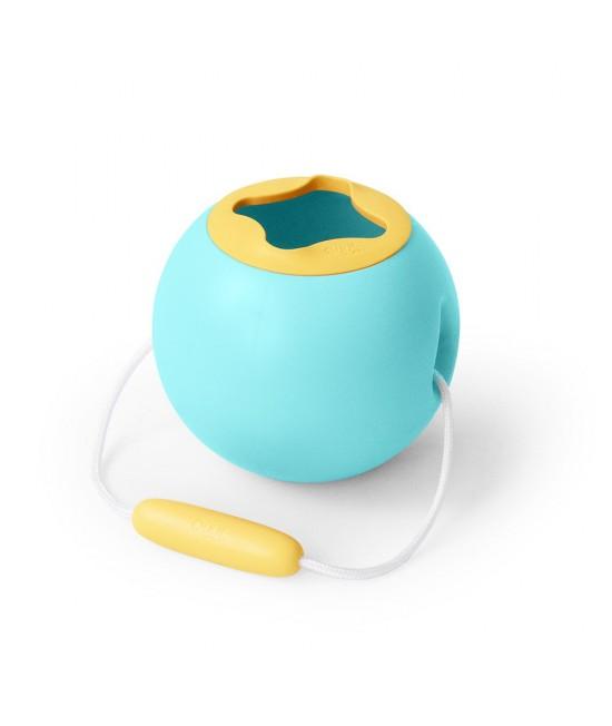 Mini Ballo - găletușă Quut Toys turcoaz pentru apă
