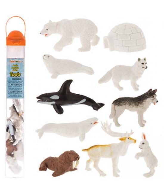 Tub figurine Lumea arctică Safari Ltd. TOOB®