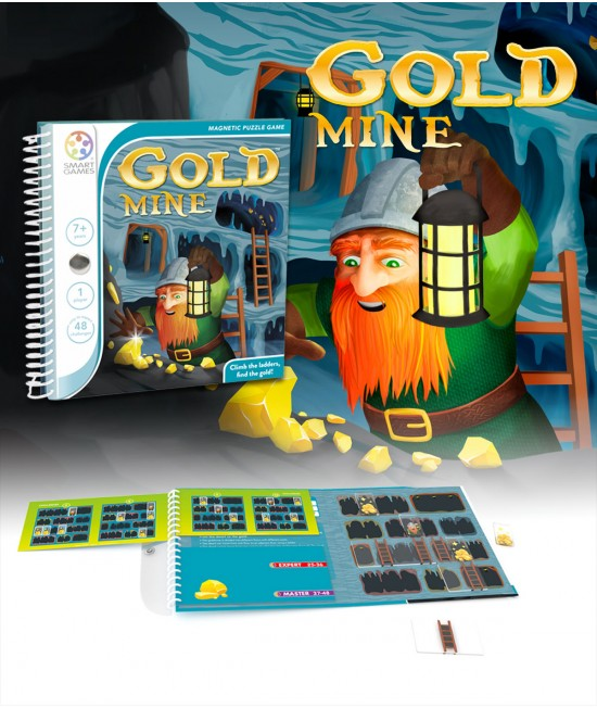 Gold Mine - Joc Puzzle Magnetic SmartGames