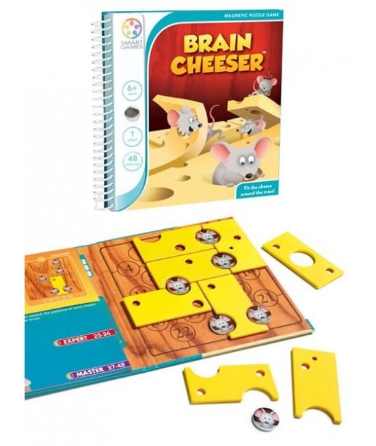 Brain Cheeser - Joc Puzzle Magnetic SmartGames
