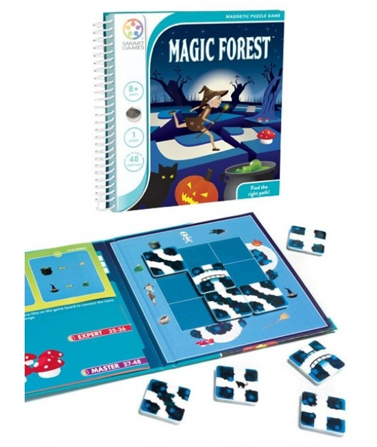 Magic Forest - Joc Puzzle Magnetic SmartGames (Pădurea magică)