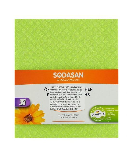 Lavete ecologice Sodasan - 2 bucăți