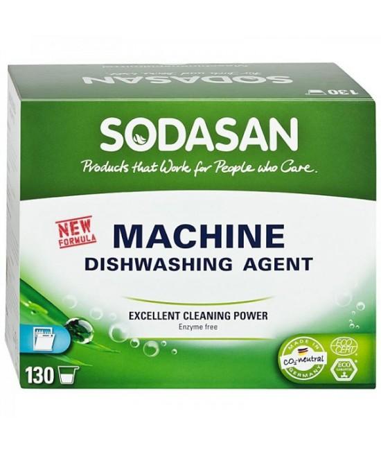 Detergent ecologic praf Sodasan pentru mașina de spălat vase - 2 kg (aprox 130 spălări)