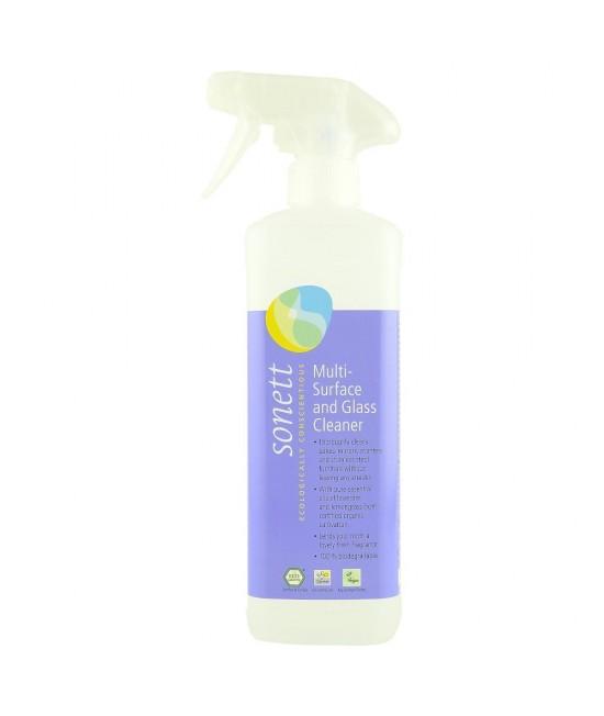 Detergent ecologic Sonett pentru sticlă și alte suprafețe - 500 ml