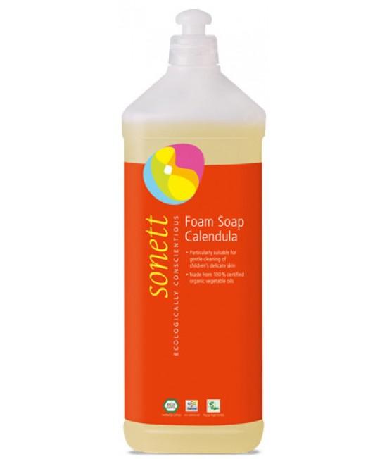 Săpun lichid de mâini ecologic spumant pentru copii - Sonett cu gălbenele - 1L