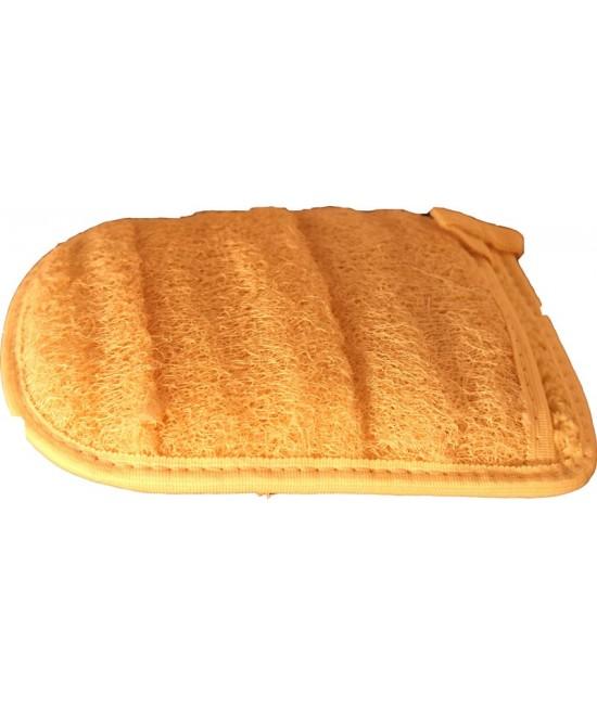 Lufa mănușă – burete natural pentru peeling - 20 x 16 cm - Mirtec International Co. Egipt