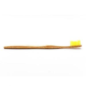 Periuță de dinți BIO din bambus pentru adulți - Humble galbenă