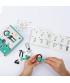 BabaBit - 3 în 1 Character Kit The OFFBITS - set de construit cu șuruburi și piulițe