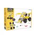 LoaderBit - 3 în 1 Vehicle Kit The OFFBITS - set de construit cu șuruburi și piulițe