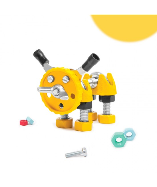 PuppyBit - Animal Kit The OFFBITS - set de construit cu șuruburi și piulițe