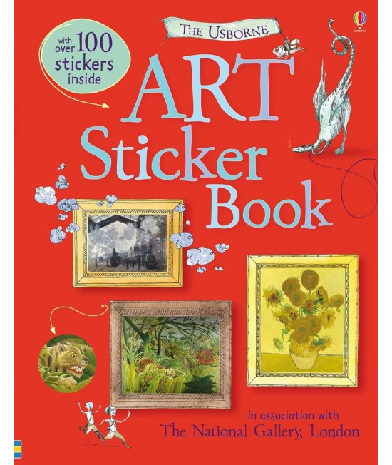 Art Sticker Book - Usborne Art Sticker Books
