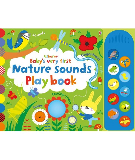 Baby's very first Nature sounds Playbook - Baby's very first play books - Stella Baggot