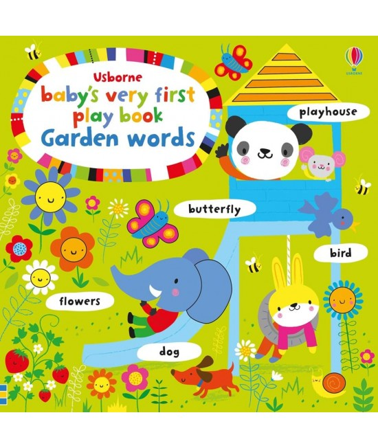 Baby's very first Play book Garden words - Baby's very first play books - Stella Baggot