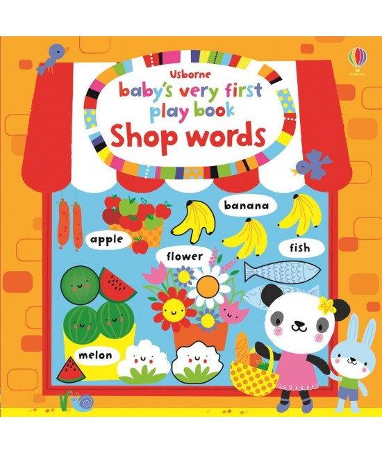Baby's very first Play book Shop  words - Baby's very first play books - Stella Baggot