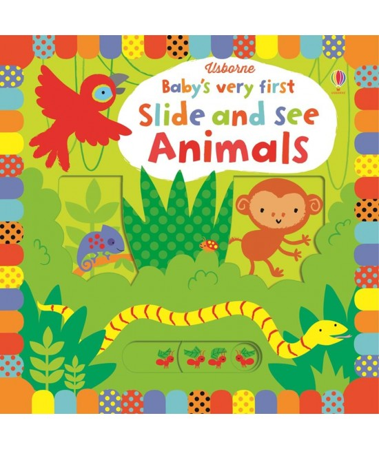 Baby's very first Slide and see Animals - Baby's very first slide and see books - Stella Baggott