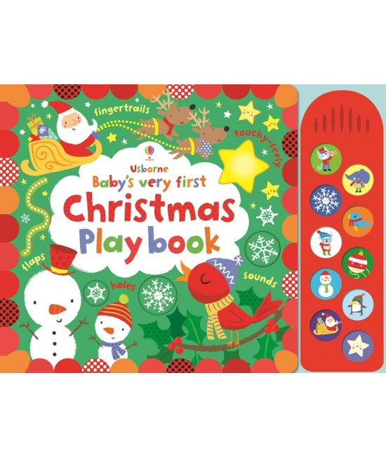 Baby's very first Touchy-feely Christmas play book - Baby's very first play books - Stella Baggott