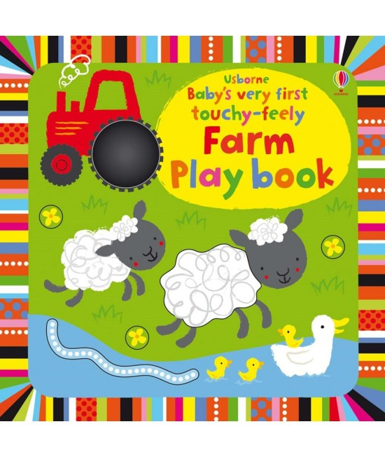 Baby's very first Touchy-feely Farm play book -  Baby's very first play books - Stella Baggott