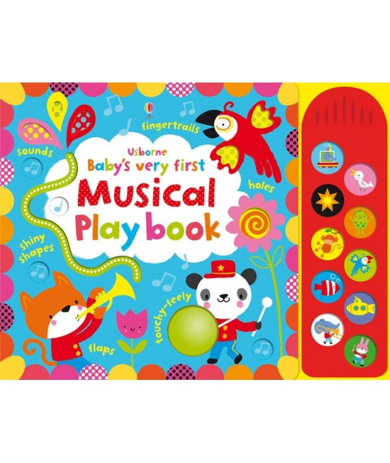 Baby's very first Touchy-feely Musical play book - Baby's very first play books - Stella Baggott