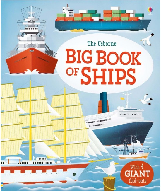 The Usborne Big Book of Ships
