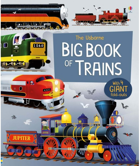 The Usborne Big Book of Trains