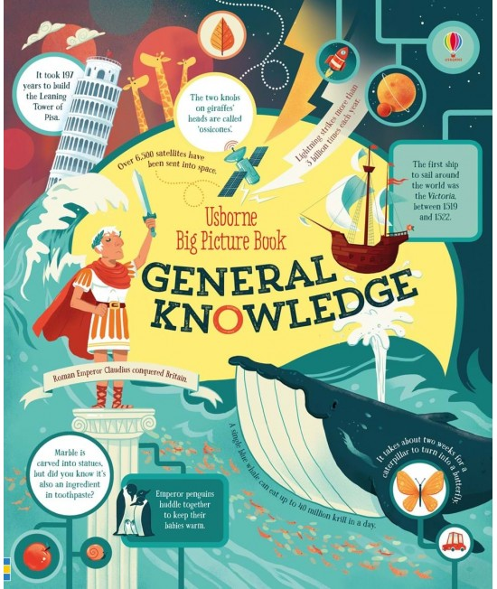 Big Picture Book of General Knowledge - Usborne Big Picture Books
