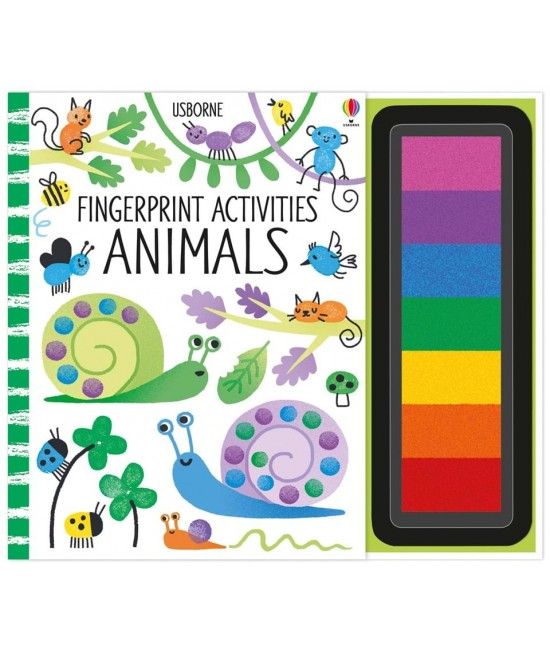 Fingerprint activities: Animals - Fingerprinting and rubber stamps - Erica Harrison