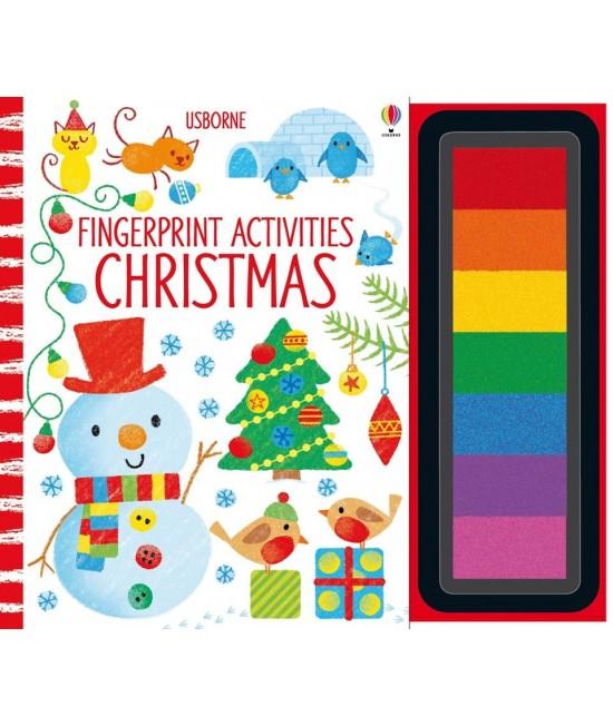Fingerprint activities: Christmas - Usborne Fingerprinting and rubber stamps