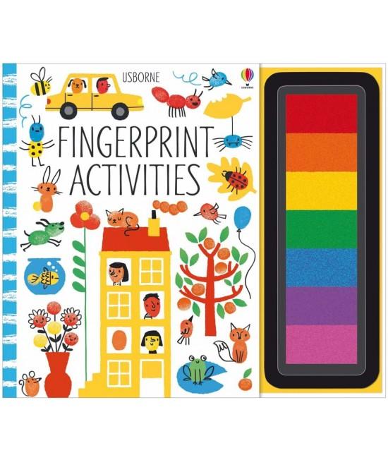 Fingerprint activities - Fingerprinting and rubber stamps - Erica Harrison